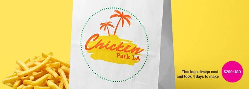 small business logos chicken park la