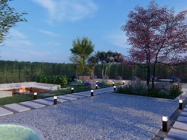 Landscape architect. Passionate about designing beautiful and functional green spaces.  I'm working on both public and residential projects. I have successfully collaborated with the clients from all over the world