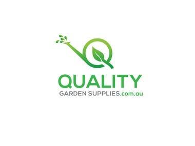 logo designed for garden supply company called Quality Garden Supplies