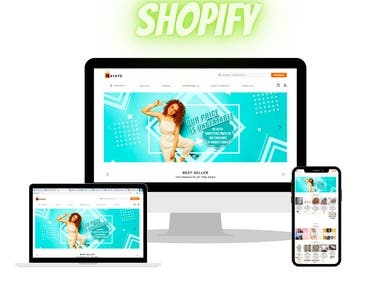 """Recently, I have developed a successful """"dropshipping"""" store using Shopify. There I have do everything like setup complete store, Create Logo, add highly profitable products, setup all social media markting tools' like Facebook, Instagram, facebook Pixle everything."""