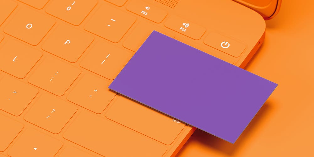 Cover photo for 60 modern business cards to make a killer first impression