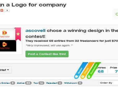 Digital Oyster Winning Design
