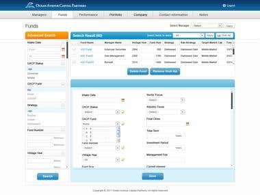 Web Site, Web Application, Mobile Application, Desktop Application(WPF)