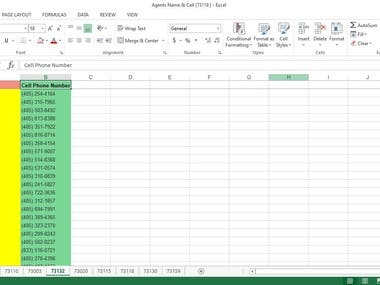 This is a data entry task portfolio. I completed this project related task such as data entry, data scraping, Data analysis and Data Extraction. It was great experience for me.