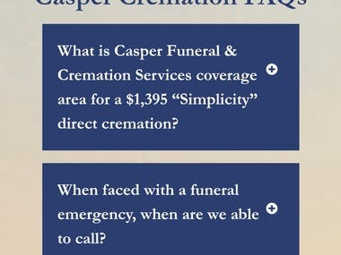 Casper Funeral & Cremation Services in Boston offers a $1,395 simplicity cremation with no extra charges. Caspers are experts in efficient, professional, and cost-effective cremation from Boston across the state of Massachusetts including Cape Cod. For over 90 years, the Casper family-owned funeral service has cared for loved ones. Our five funeral directors and staff understand the importance of clear cremation communication, understanding, and following through on a family's cremation wishes. Client families comment on our kindness, caring approach, and our transparent cremation pricing of $1,395 with no extra charges.