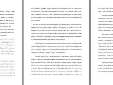 This is a 50k word novel written by me.