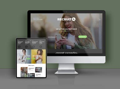 Landing Page for Interview Tool