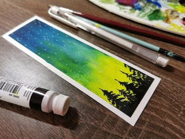 Looking for any beautiful Hand Painted Bookmarks ?.We are here for you !!