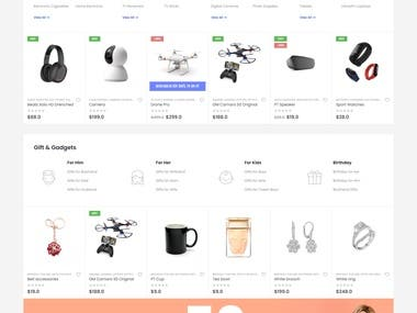 An E-Commerce Website Demo