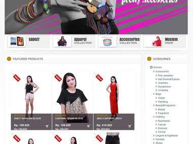 ShopAShop.net is fashion and lifestyle store in Indonesia