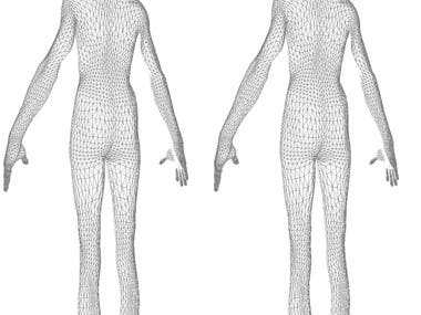 ShapeShot is a body measurement scanning application built for both Android and iOS platforms. This application captures human body images and determines the measurements such as Body Mass, Body Fat, Waist, Muscle Mass along with a rotating 3D model. This project is based on OpenGL and Firebase ML Kit. ShapeShot is capable of calculating precise body measurements. Complete application is built on Kotlin Programming Language with MVVM architecture and Room and LiveData library to make the measurements and user data persistent throughout the application.