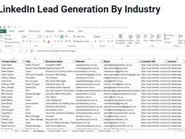 Hi there, I'm expert Leads Generation always. I'll provide valid leads so if your need any leads please contact me.