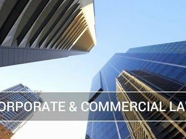 Corporate & Commercial  Law