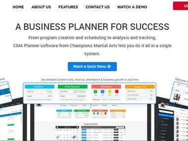 Manage programs, students, membership & more using just one system.  Complete Student Records and Membership Management  site: http://cmaplanner.com