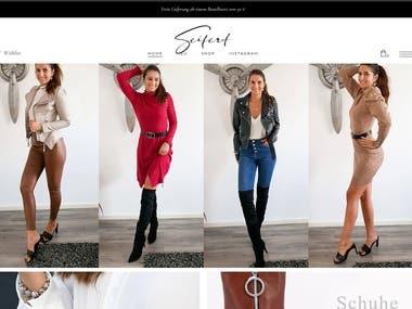 Fashion Clothing Shopping Site