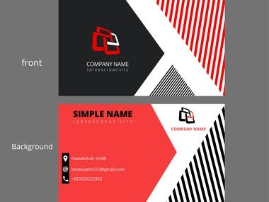 hello, here  I am  providing you business card, I have lots of experience about graphics, I am working since from  2 years, I design suitable business card for your Company futhermore you may contact me. Thank you
