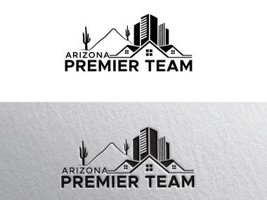 Real Estate Team called Arizona Premier Team. Some information: We specialize in luxury homes. We serve the State of Arizona (US). We think we would like our colors to be black and gold, but are open to ideas. We need the logo to be simple and look good in print and clearly visible on signs when we post homes for sale. Thank you!