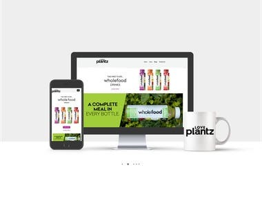 I have designed and develop LovePlantz.com as per clients' requirements. you can also see live this project by click this link: https://loveplantz.com/ this project is eCommerce based and about wholefood drinks UK based with amazing and creative design. Thanks
