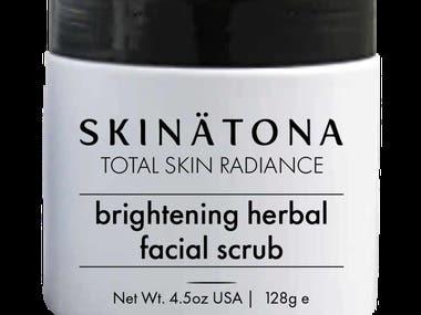 skinatone 9 product label and mockup