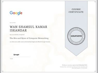 Course 2 of 5 to become a certified Google IT Support Specialist.
