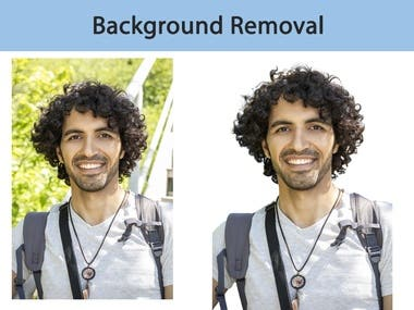 Removing the background of any kind of image quickly.