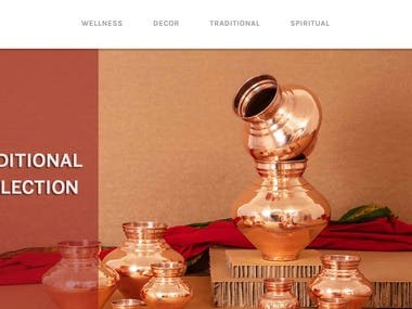 Pratik Copper is led by high class modern technologies, able team and manufacturing capacity and has become brand to depend on. From designs authenticity, product durability, manufacturing precision and long term customer associations we complete the growing value chain of copper utensils and copper market.