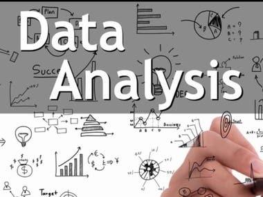 Data analysis, Data mining, Stock, Time series analysis Using Matlab, R, Python, c#, OpenCV, image processing, ML, DL,