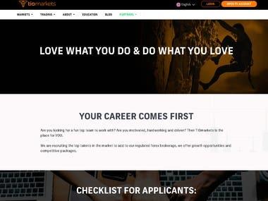 make website like this url('http://tiomarkets.com/')