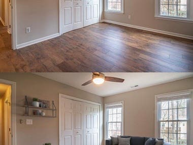 Some pictures in Virtual Staging field
