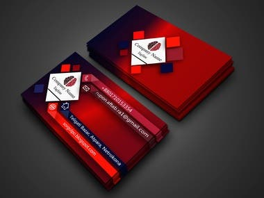 I am a professional graphics designer. Business Card design is one of my graphic design works. I like to design all kinds of Business Card design. So I have presented a few samples of my work in my portfolio...