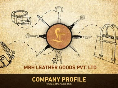 Some Of The Company Profile Design Made By Us