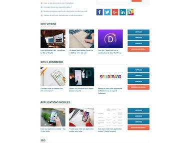 This is a blog site using genesis framework