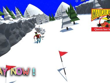 Game for 6-10 years kids audience  Environment Design Music Gameplay mechanics Procedural difficulty HTML5 Compatible