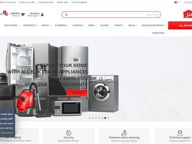 Tshween.com is startup e-commerce website in the Arab world specializing in home improvement and building materials, fixtures and finishes. It has more than ...