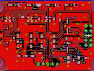 This is six layers PCB on Altium Designer. The main goal of this design is to ensure the right routing and signal quality. BOM and all components was referenced in Digi-key.