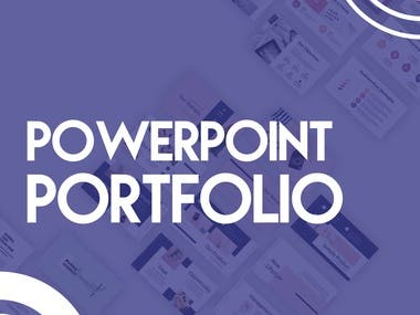 We design engaging stories, beautiful presentations, and corporate PowerPoint templates. Award us the project to get your PowerPoint presentation designed.