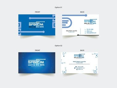 Modern Business card design for IT/security company. Modern Business card design for IT/security company. Modern Business card design for IT/security company
