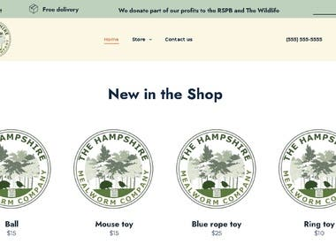 Used my webdesign skills and the power of php/mysql to deliver this amazing webstore https://hampshiremealworms.co.uk/