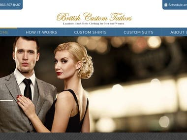 WordPress Website Link: https://www.britishtailors.com/