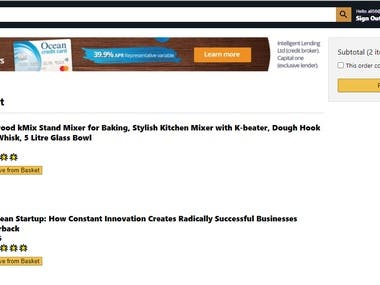 In this project i have created a ecommerce website just like amazon with all the functionalities including  1 Add to Cart 2 User Authentication 3 checkout page 4 payment WITH PAYPAL TEST API 5 Firebase database connectivity  Live on server :  https://clone-ce639.firebaseapp.com/?fbclid=IwAR22E2f6Ec58IdlLo4q-4Xsg5_5dVbw1JZjxagUr_X77oyKuF5cHWBIg514