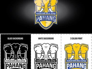 Logo design for football club