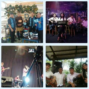 Here are my activity as a musician. I am a professional musician that hired or contracted for several event and regular performance. The other picture show my teaching activity in my own business.