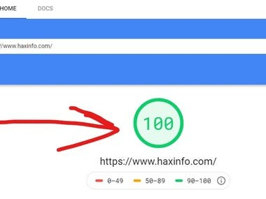 This is my personal website: https://www.haxinfo.com/ and you can see my website speed by yourself or as this: