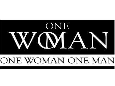 one man, one woman,