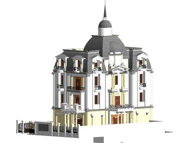 this's a work in Revit and AutoCAD