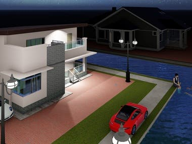 Residential Building done by Revit
