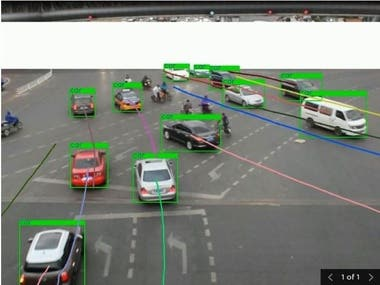 Project description  Object Tracking and Trajectory Estimation of Vehicles using Kalman Filter and Mask R-CNN on UA DETRAC dataset. Evaluated the below metrics for Object Tracking Intersection over union (IoU), Mean Average Precision (mAP)  Evaluated the below metrics for Trajectory Estimation Average Loss