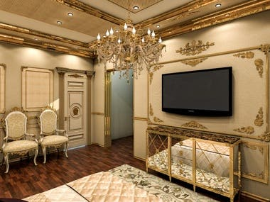3D Interior Design & Rendering