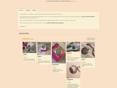 About the project This site is shopify ecommerce website. URL: https://www.nostradamus.shop This site is getting much revenue.