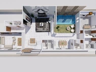 Samples of rendered plans
